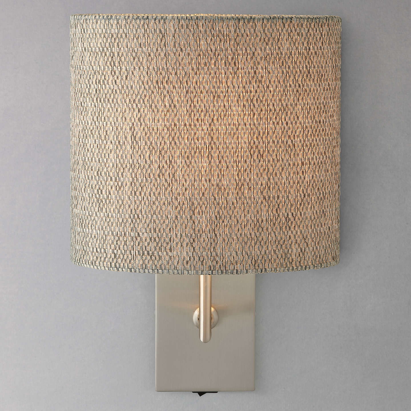 John lewis lorenzo textured shade wall light at john lewis buyjohn lewis lorenzo textured shade wall light online at johnlewis aloadofball Choice Image