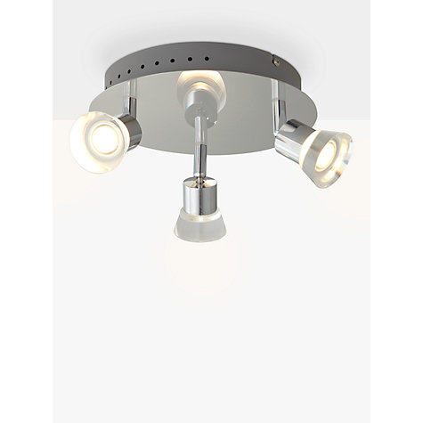 Buy john lewis lynx led 3 bathroom spotlight john lewis John lewis bathroom design and fitting