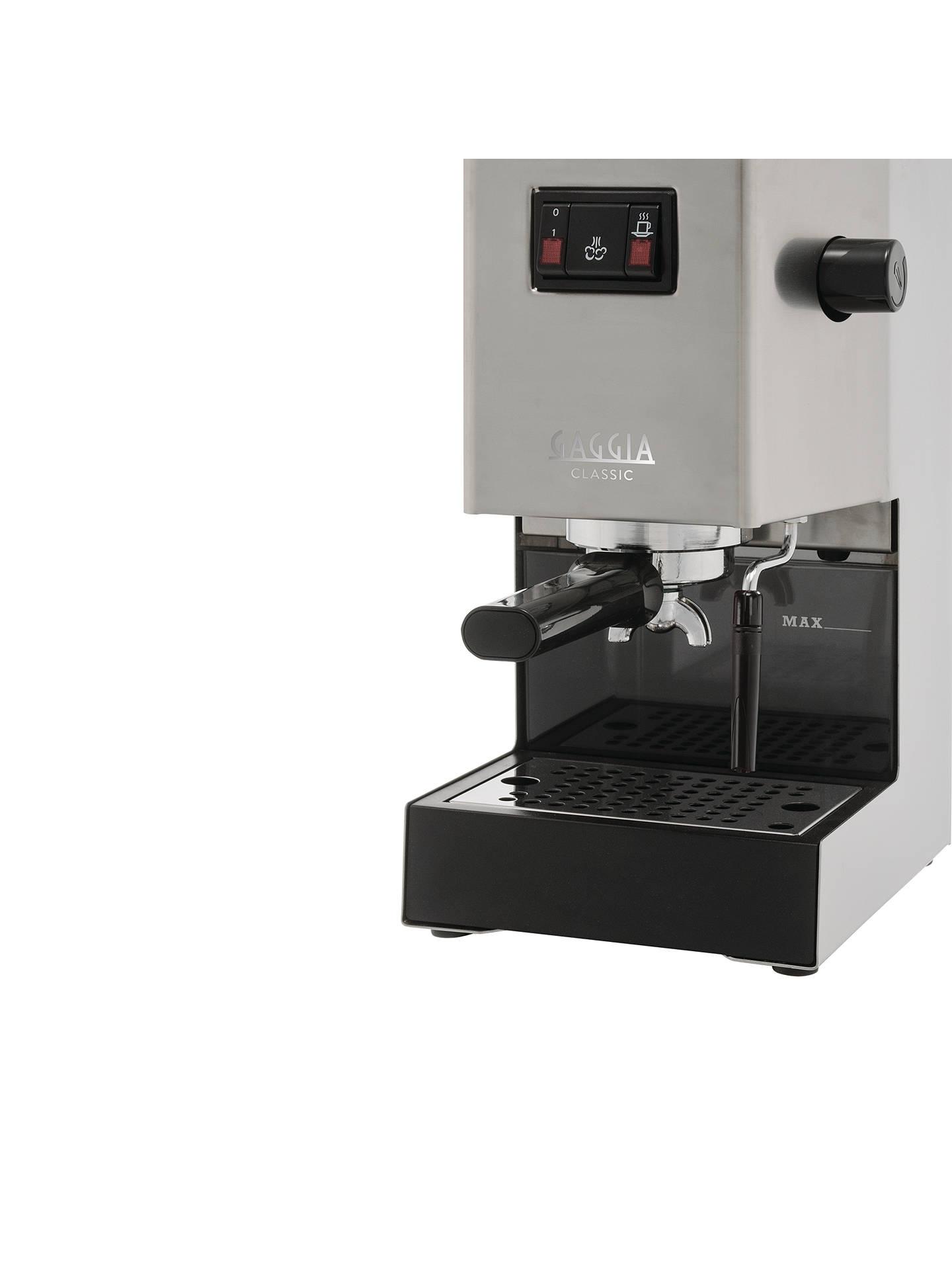 Gaggia Ri816140 Classic Manual Espresso Machine Stainless Steel At