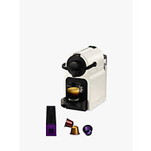 Buy Nespresso Inissia Coffee Machine by KRUPS, White Online at johnlewis.com
