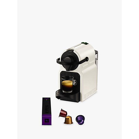 buy nespresso inissia coffee machine by krups white. Black Bedroom Furniture Sets. Home Design Ideas
