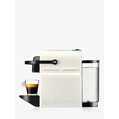 buy nespresso inissia coffee machine by krups white john lewis. Black Bedroom Furniture Sets. Home Design Ideas
