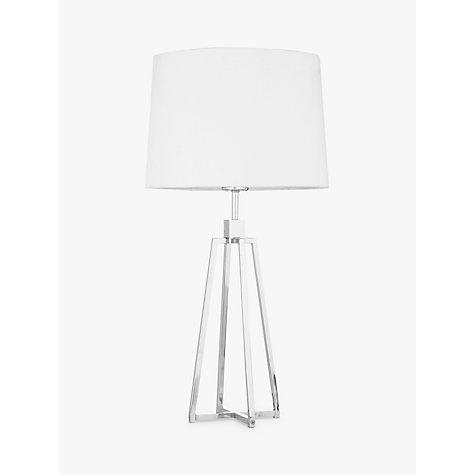... Buy John Lewis Lockhart Tripod Table Lamp, Chrome Online At  Johnlewis.com ...