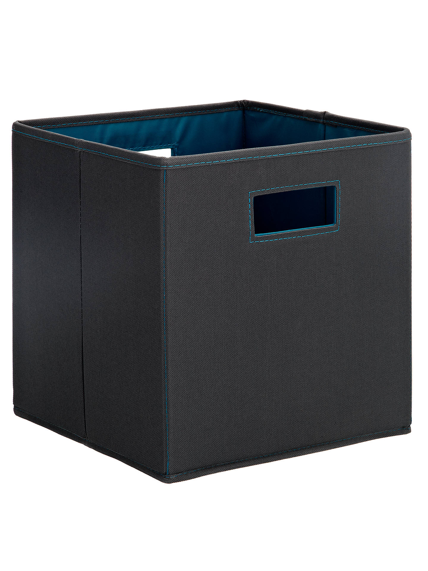 House by John Lewis Folding Square Storage Box at John ...