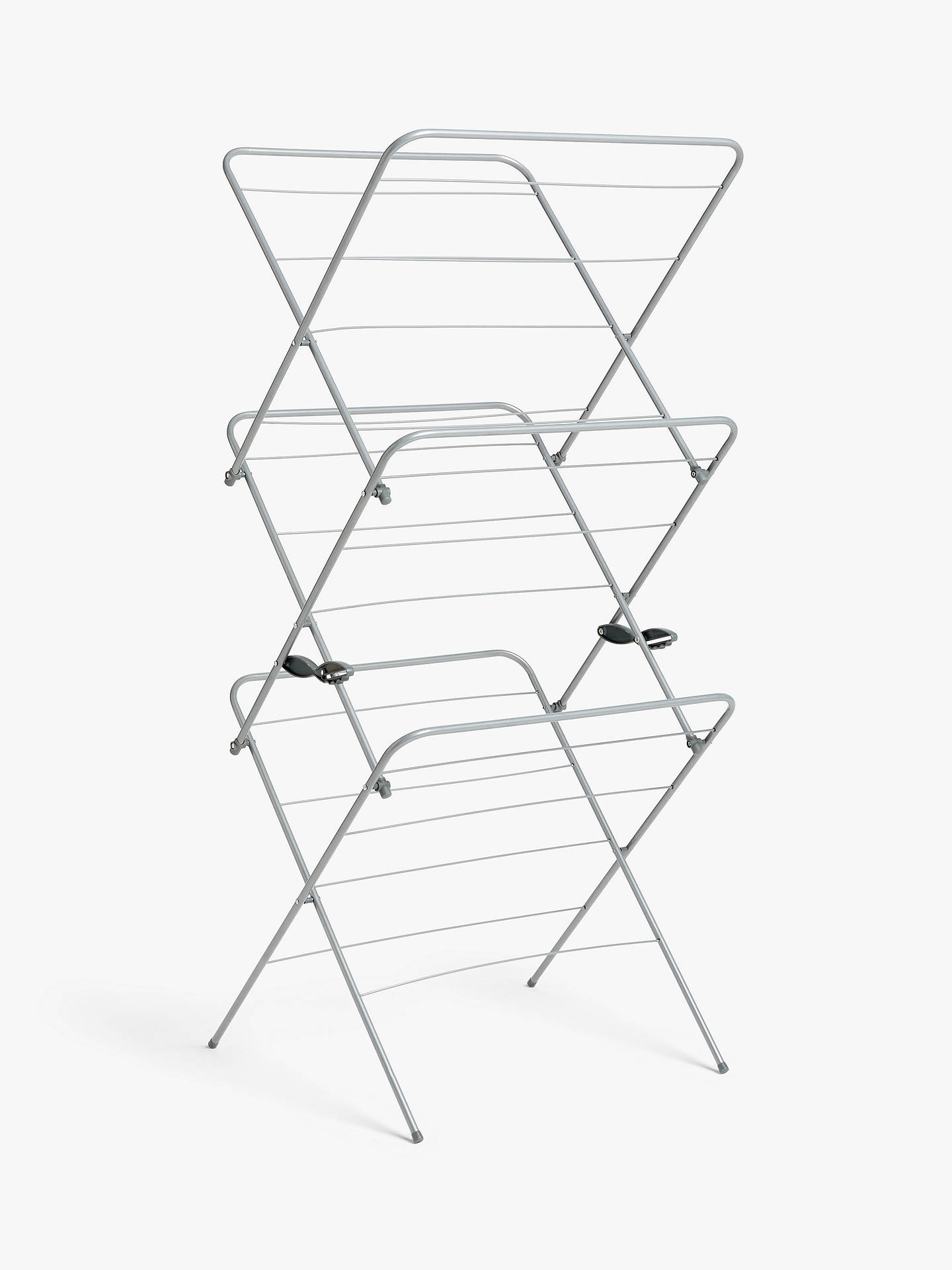 BuyJohn Lewis & Partners Standard 3 Tier Clothes Airer Online at johnlewis.com