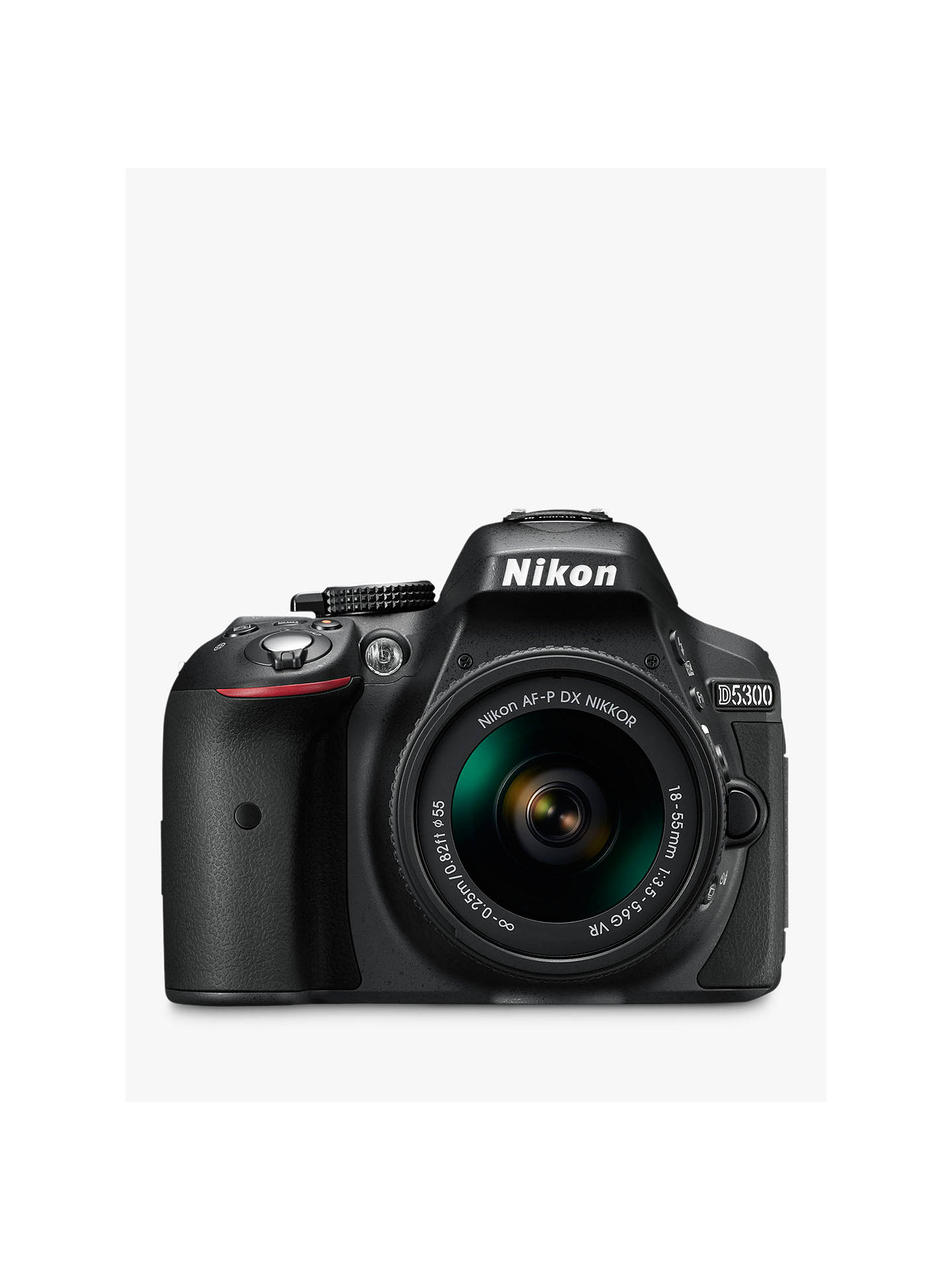 Buy Nikon D5300 Digital SLR Camera with 18-55mm VR Lens, HD 1080p, ...