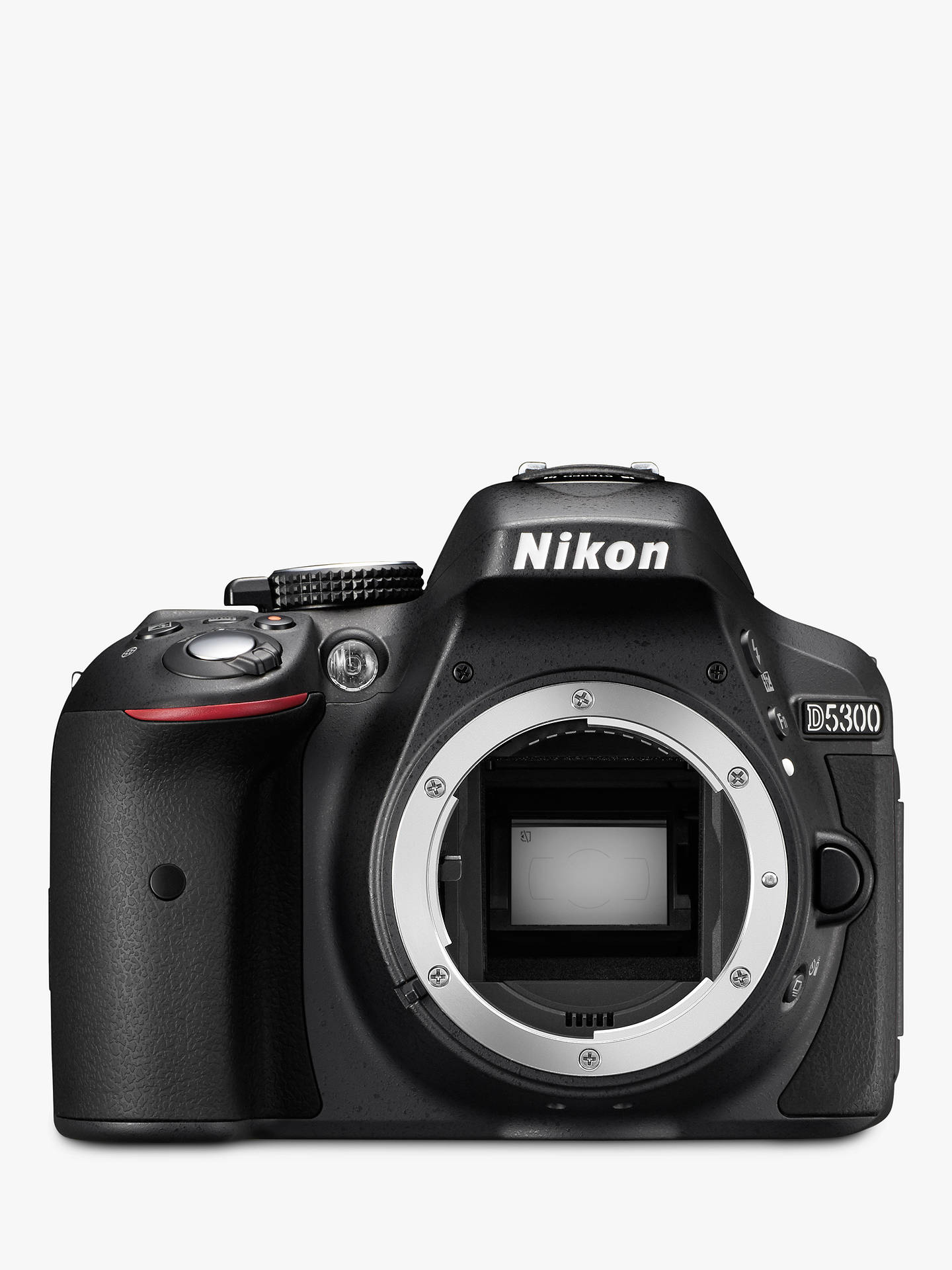 "BuyNikon D5300 Digital SLR Camera with 18-55mm VR Lens, HD 1080p, 24.2MP, Wi-Fi, 3.2"" Screen Online at johnlewis.com"