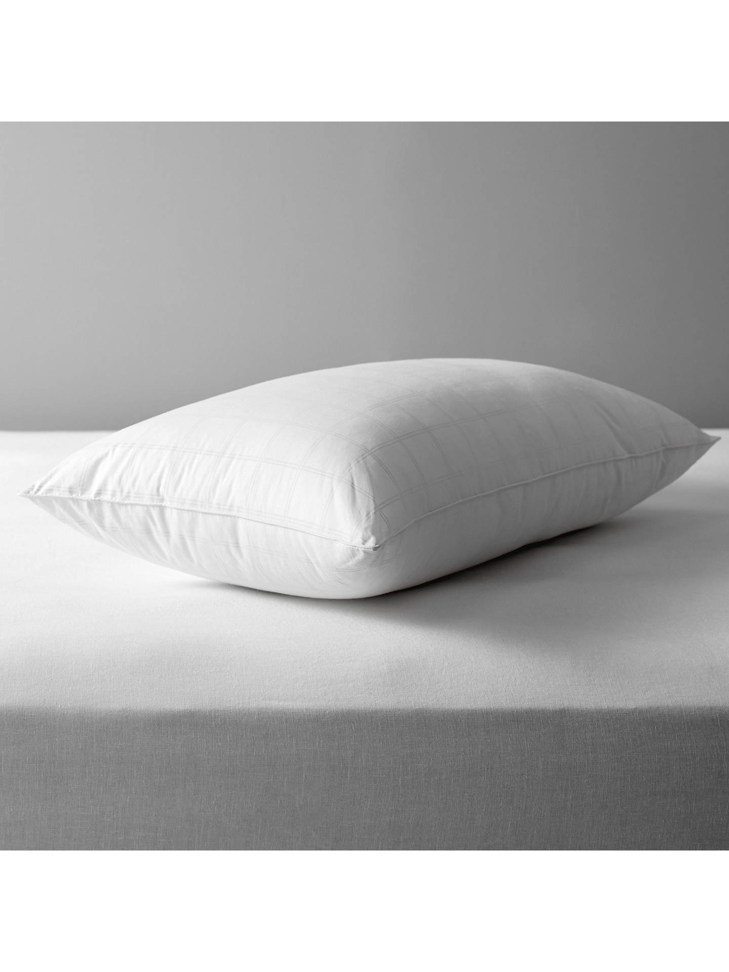 BuyJohn Lewis Synthetic Microfibre Standard Pillow, Extra Firm Online at johnlewis.com