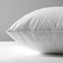 Buy John Lewis Synthetic Microfibre Standard Pillow, Extra Firm Online at johnlewis.com