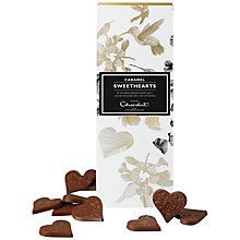 Buy Hotel Chocolat Caramel Sweethearts, 110g Online at johnlewis.com