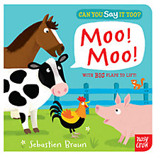 Buy Can You Say It Too? Moo Moo Book Online at johnlewis.com