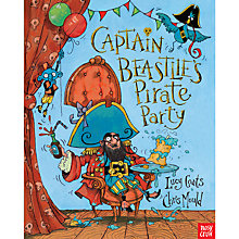 Buy Captain Beastlie's Pirate Party Book Online at johnlewis.com