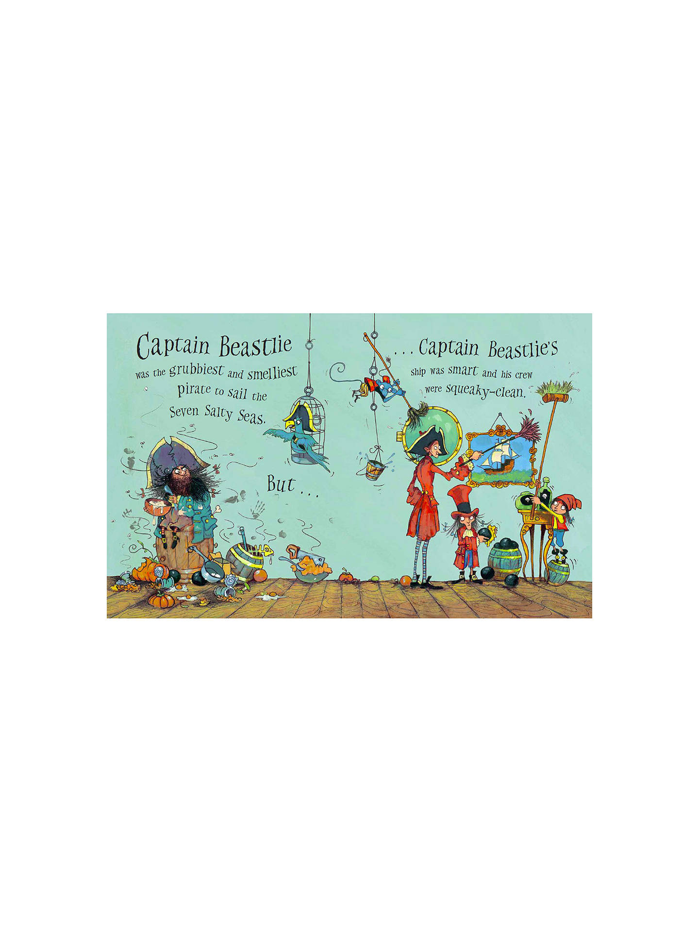 Buy Captain Beastlie's Pirate Party Children's Book Online at johnlewis.com