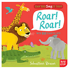 Buy Can You Say It Too? Roar Roar! Book Online at johnlewis.com