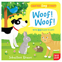 Buy Can You Say It Too? Woof Woof Book Online at johnlewis.com