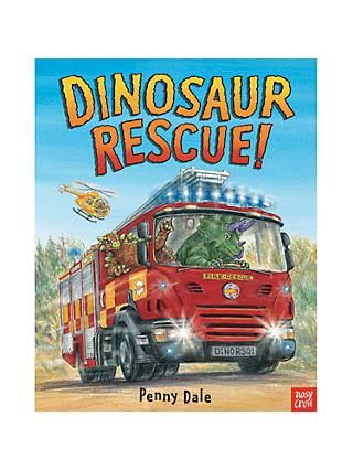 Dinosaur Rescue Children's Book