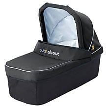 Buy Out 'N' About Nipper Double Carrycot, Black Online at johnlewis.com
