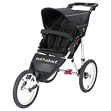 Buy Out 'N' About Nipper Sport V3 Pushchair, Raven Black Online at johnlewis.com