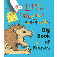 Buy Little Mouse's Big Book of Beasts Book Online at johnlewis.com