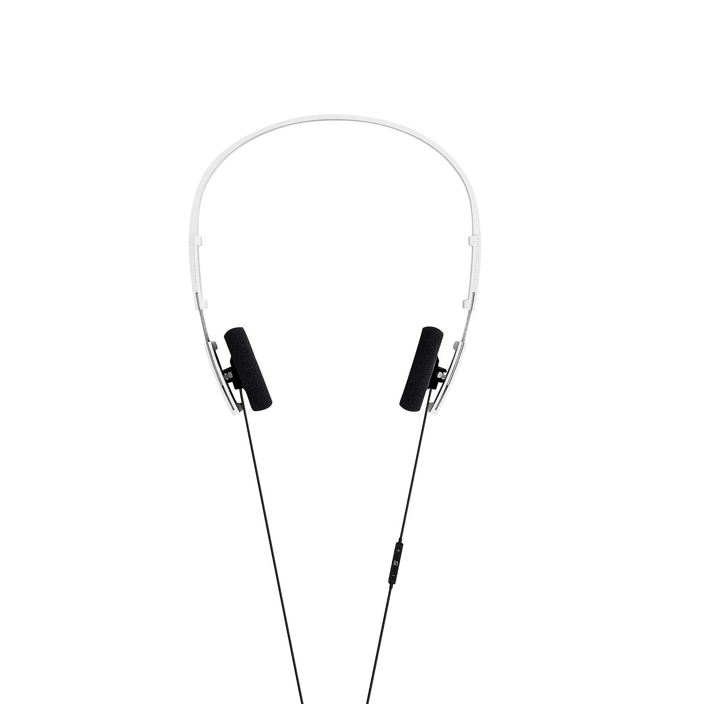 BuyB&O PLAY by Bang & Olufsen Beoplay Form 2i On-Ear Headphones with Mic/Remote, White Online at johnlewis.com