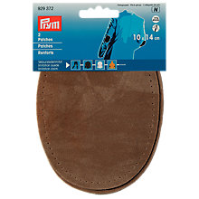 Buy Prym Imitation Suede Patches, Stone Online at johnlewis.com