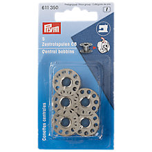 Buy Prym Oscillating Hook Sewing Machine Bobbins, Pack of 5 Online at johnlewis.com