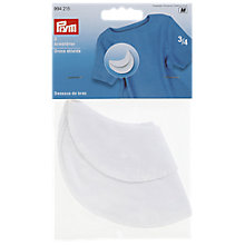 Buy Prym Dress Shields, Pack of 2, White Online at johnlewis.com