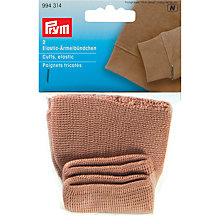 Buy Prym Elastic Cuffs, Pack of 2, Beige Online at johnlewis.com