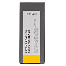 Buy John Lewis Patent Leather Restorer, Black Online at johnlewis.com