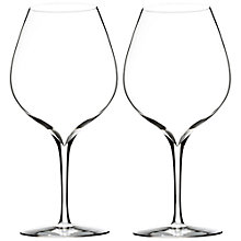 Buy Waterford Elegance Merlot Wine Glasses, Set of 2 Online at johnlewis.com