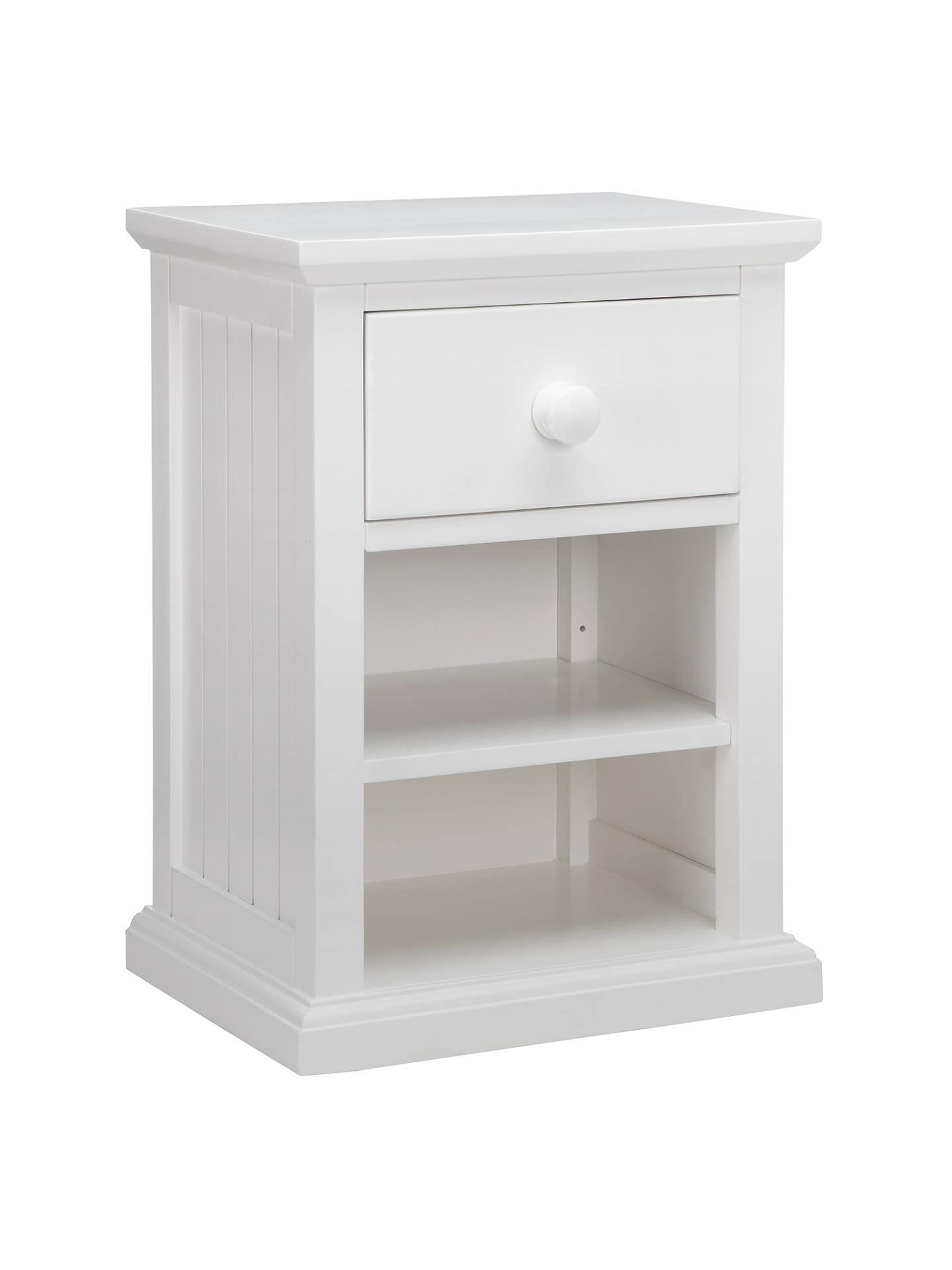 Little Home At John Lewis Hickory Bedside Table White