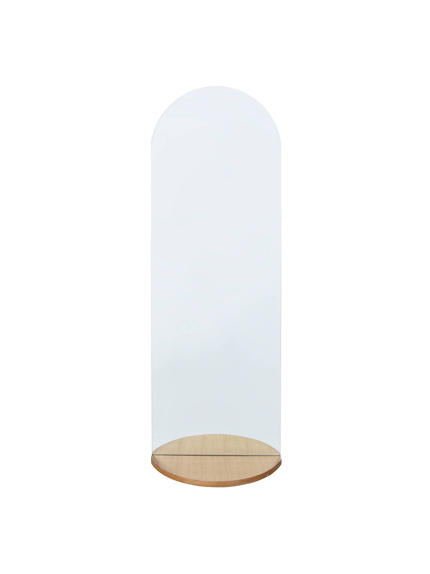 Buy House by John Lewis Notch Wall Mirror Online at johnlewis.com