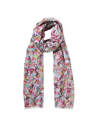 Buy John Lewis Meadow Floral Print Scarf, Multi Online at johnlewis.com