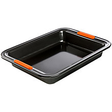 Buy Le Creuset Rectangular 28cm Cake Tin Online at johnlewis.com
