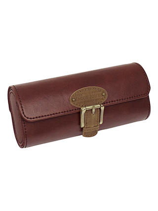 Buy Jacob Jones Check Lined Glasses Case Online at johnlewis.com