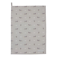 Buy Sophie Allport Terrier Tea Towel Online at johnlewis.com
