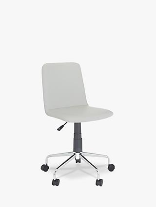 House by John Lewis Nova Office Chair, Grey