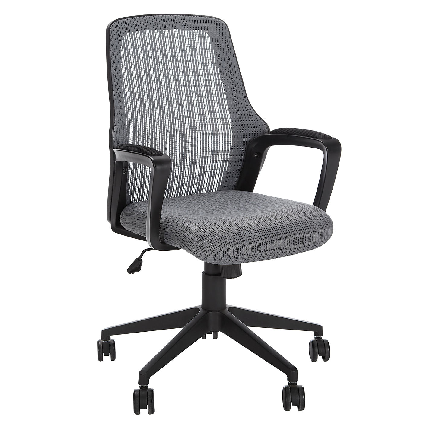 buy john lewis lois office chair, grey | john lewis