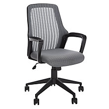 Buy John Lewis Lois Office Chair, Grey Online at johnlewis.com
