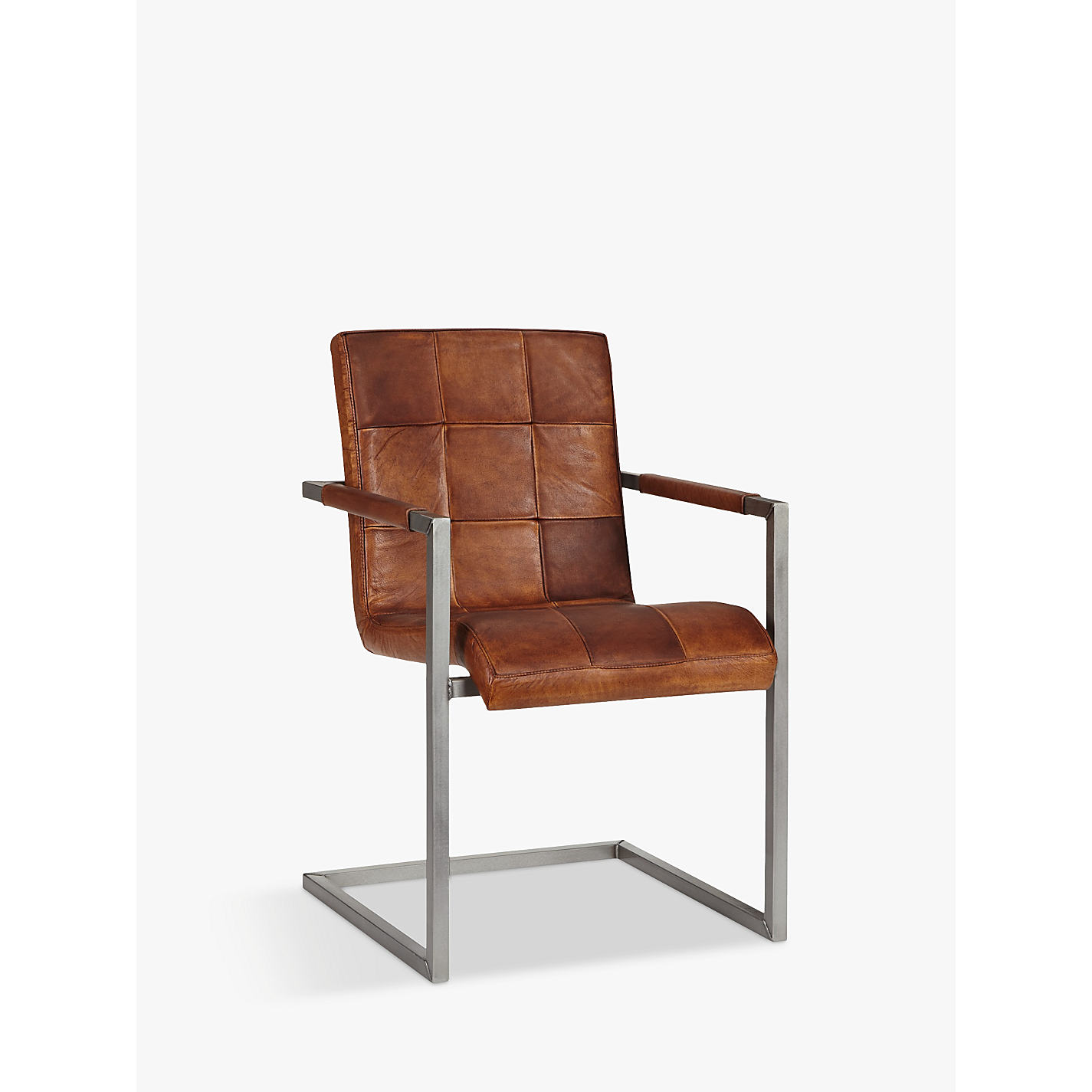 buy john lewis classico leather office/dining chair | john lewis