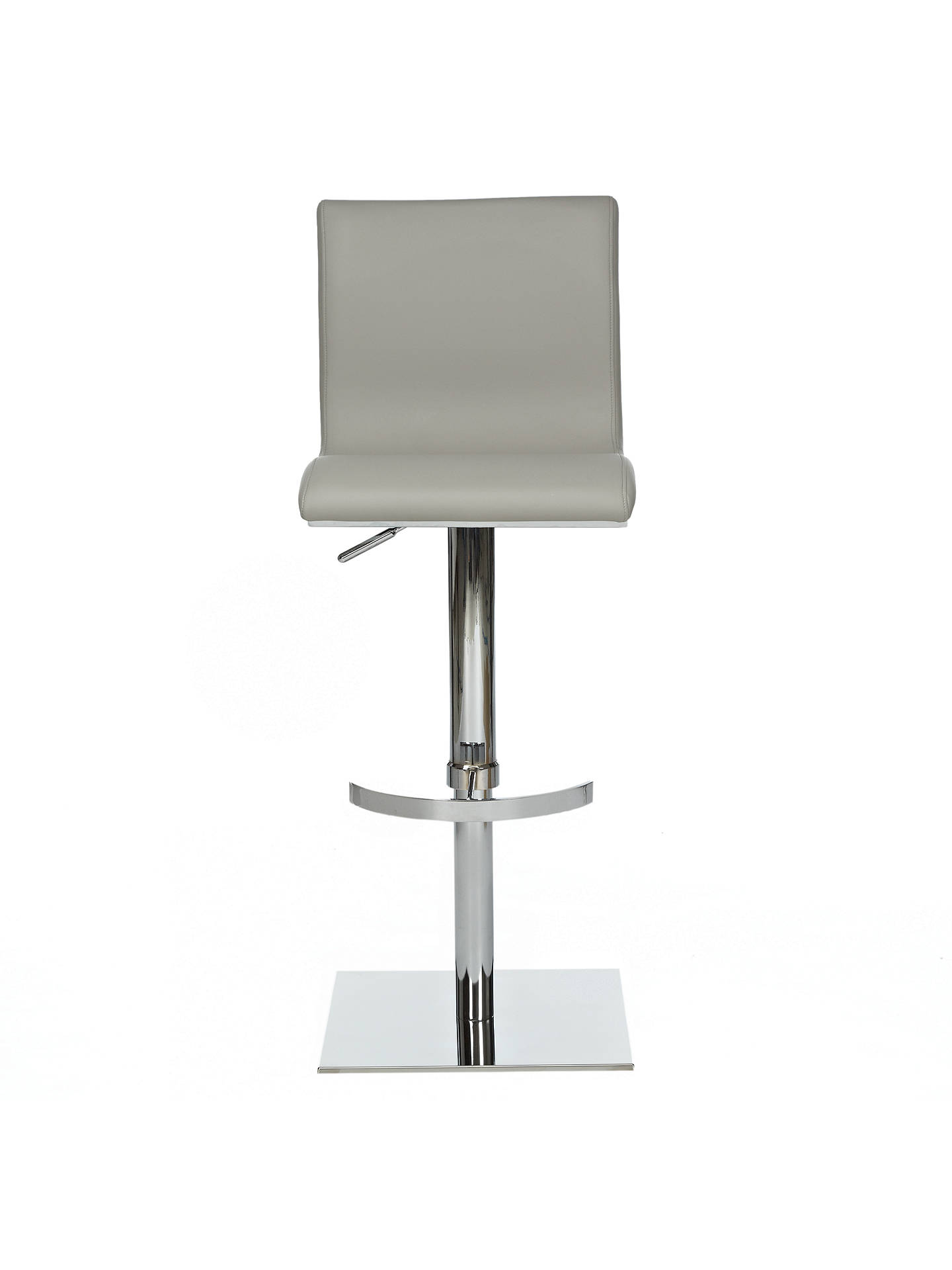 Buy John Lewis Bellini Bar Chair, Grey Online at johnlewis.com