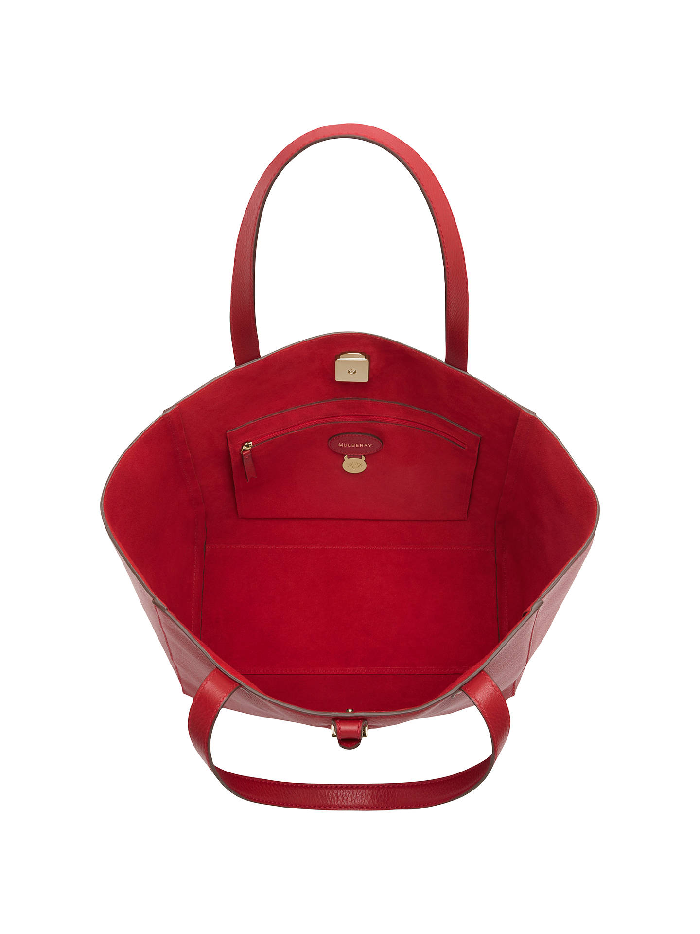 8dcfcd8c6d3 ... wholesale buymulberry tessie leather tote bag poppy online at johnlewis  d5f84 eb0e7