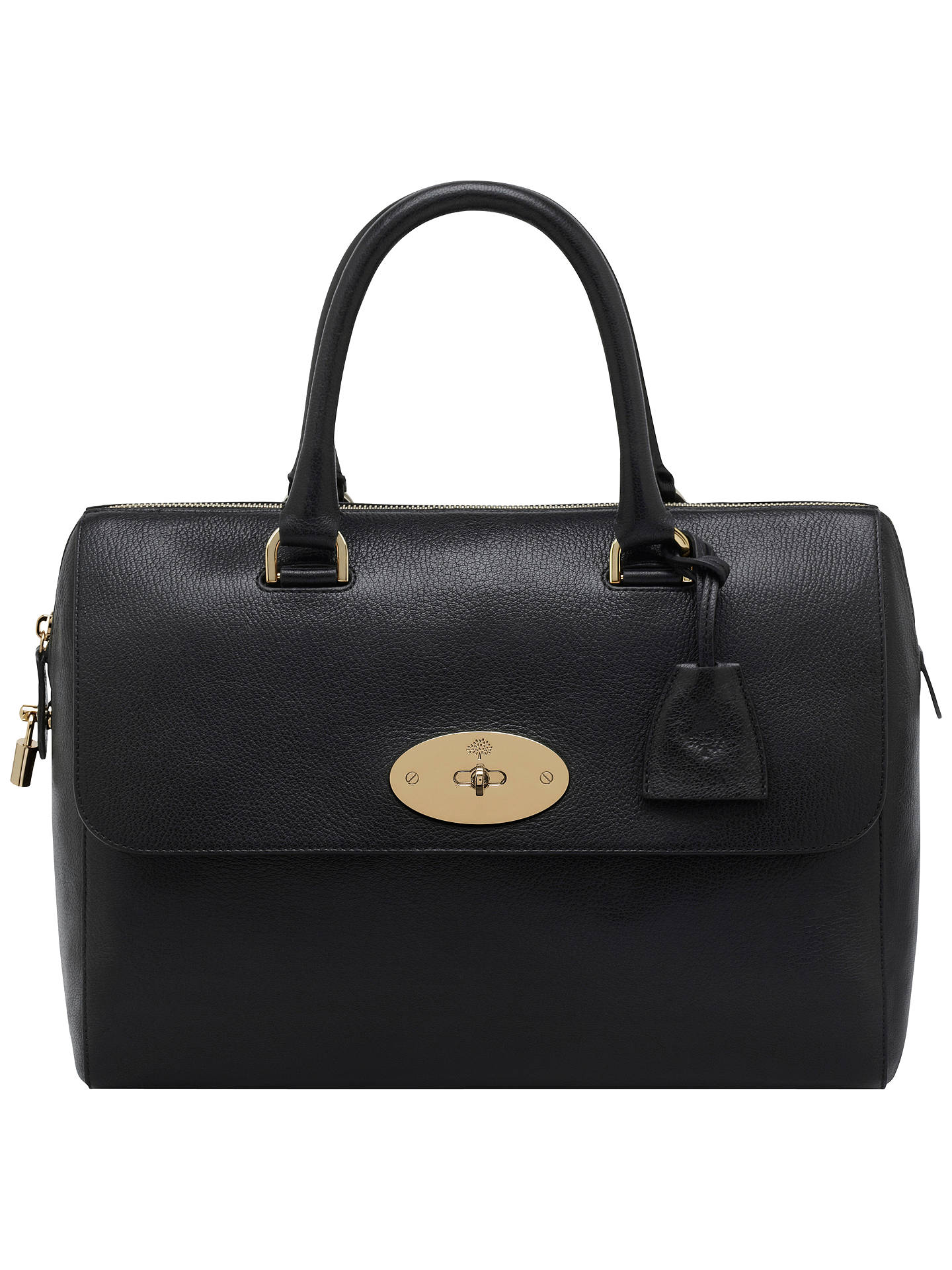 be2905af75a8 Mulberry Del Rey Leather Grab Bag at John Lewis   Partners