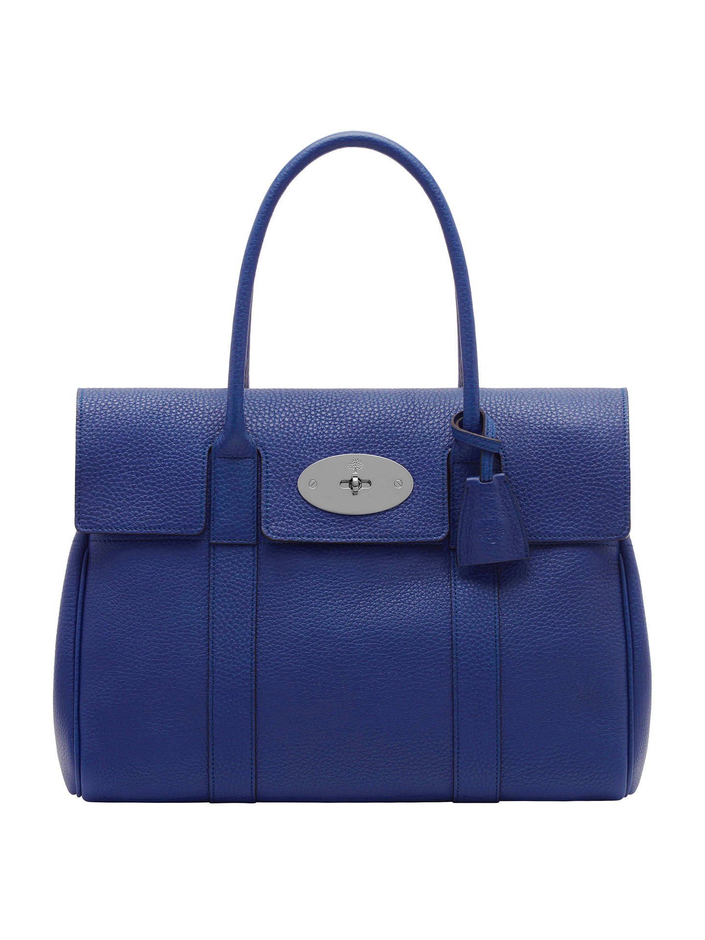 Mulberry Bayswater Leather Grab Bag at John Lewis   Partners 8e37bf1282f77