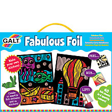 Buy Galt Fabulous Foil Sticker and Picture Kit Online at johnlewis.com