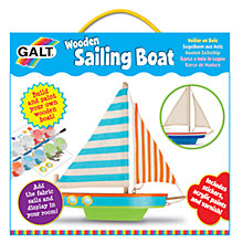 Buy Galt Wooden Sailing Boat Online at johnlewis.com