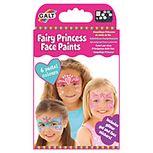 Buy Galt Fairy Princess Face Paints, Pack of 6 Online at johnlewis.com