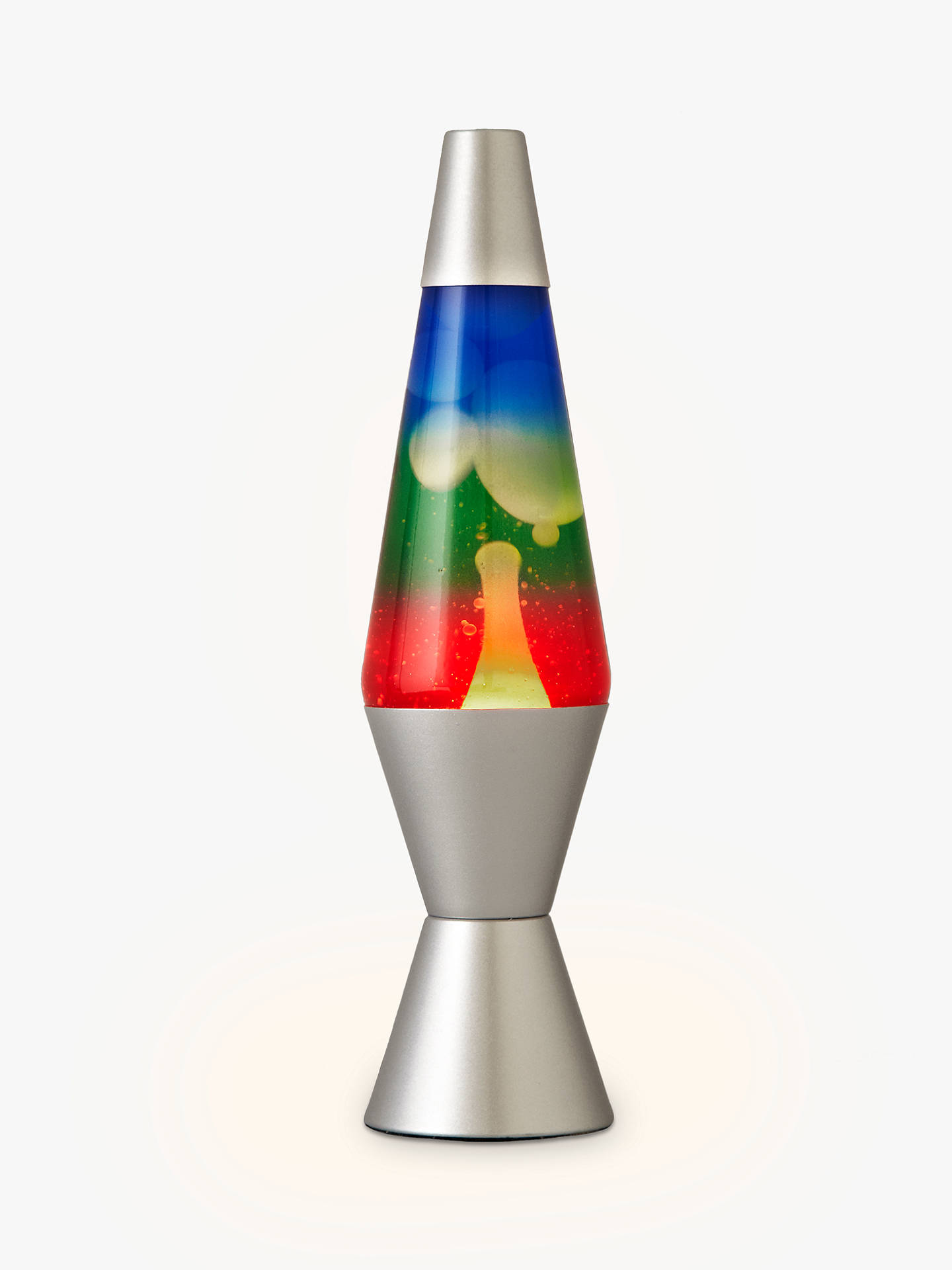 BuyLava® lamp Table Lamp, Rainbow Online at johnlewis.com