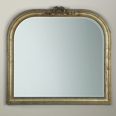 Overmantel Bow Mirror, Gold, 95 x 106cm