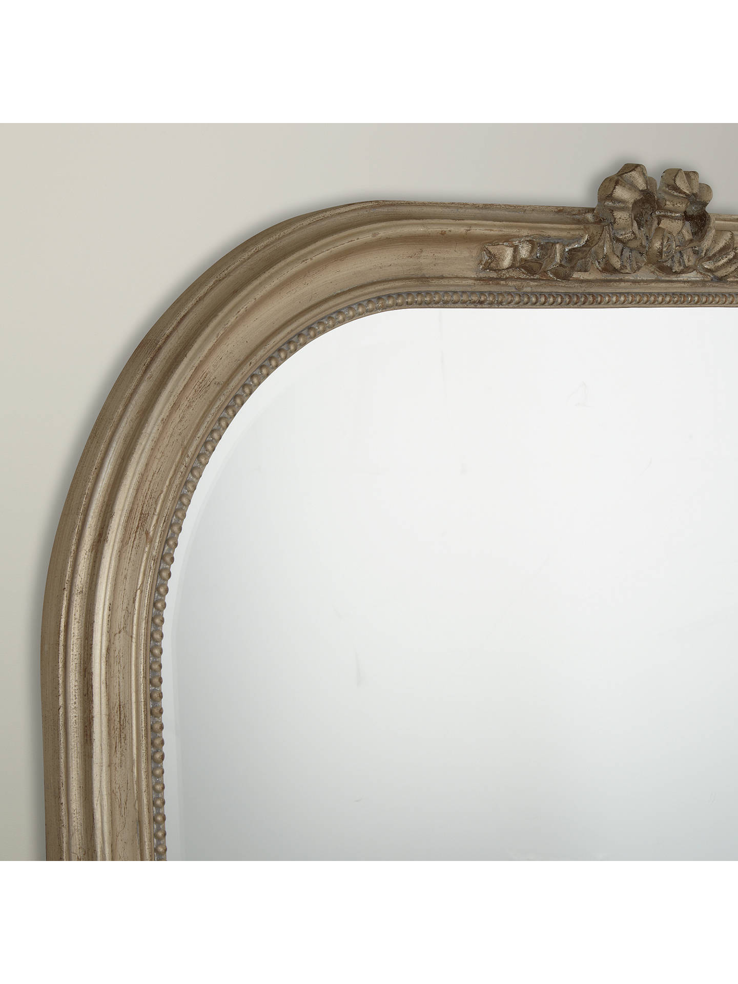 BuyOvermantel Bow Mirror, Gold, 95 x 106cm Online at johnlewis.com
